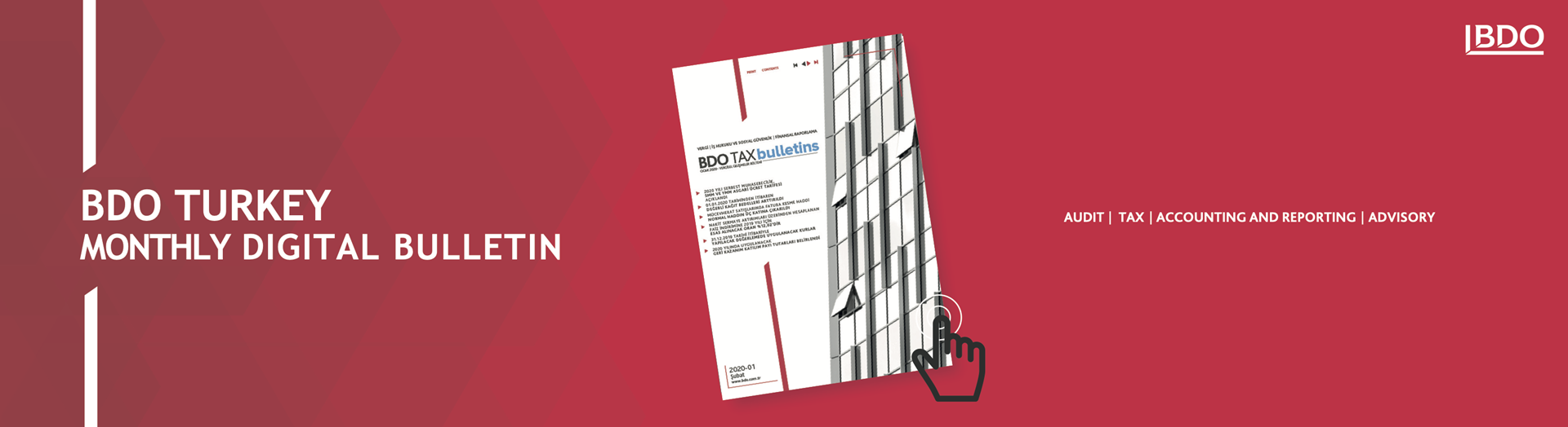 BDO Tax Bulletin 2020-01